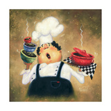 Singing Chef Prints by Vickie Wade