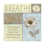 Breathe Premium Giclee Print by Jo Moulton