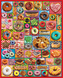 Donuts & Pastries 1000 Piece Puzzle Jigsaw Puzzle