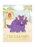 Jennifer Pugh - Triceratops Plakát
