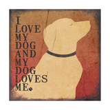Dog Love Prints by Jo Moulton