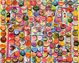 Vintage Soda Bottle Caps 1000 Piece Puzzle Jigsaw Puzzle