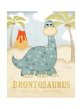 Brontosaurus Posters by Jennifer Pugh