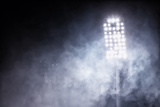 Stadium Lights and Smoke Fotografisk trykk av  vverve