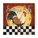 Sunrise Café Print by Kathy Middlebrook