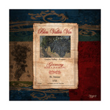Gamay Wine Label Premium Giclee Print by Shawnda Craig