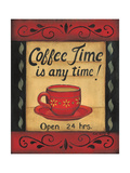 Coffee Time Is Any Time Prints by Kim Lewis