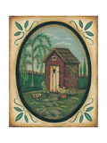 Her Outhouse Prints by Kim Lewis