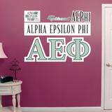 Greek Alpha Epsilon Phi Logo Wall Decal