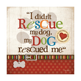 Rescue Dog Posters by Kathy Middlebrook