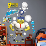 SpongeBob Movie: Invincibubble Bubble Blower Wall Decal