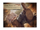 Cowboy Reason IV Posters par Shawnda Craig