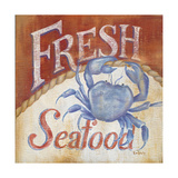 Fresh Seafood Prints by Kim Lewis