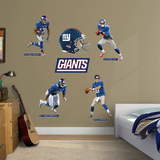 New York Giants Power Pack Wall Decal