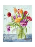 Tulipes Poster par Ninalee Irani