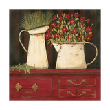 The Red Cupboard Prints by Jo Moulton