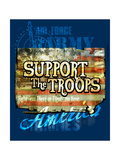 Support the Troops Art by Jim Baldwin