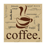 Kaffe Posters av Anna Quach