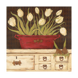 The White Cupboard Premium Giclee Print by Jo Moulton