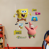 SpongeBob Movie: SpongeBob and Patrick - Sponge Out of Water Wall Decal