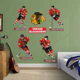 Chicago Blackhawks Power Pack Wall Decal
