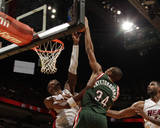 Milwaukee Bucks v Miami Heat Photo by Issac Baldizon