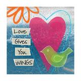 Liebe Kunstdrucke von Linda Woods