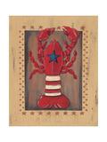 Lobster Premium Giclée-tryk af Jo Moulton
