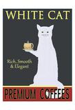 Ken Bailey - White Cat Premium Coffees Digitálně vytištěná reprodukce