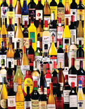 Wine Bottles 1000 Piece Puzzle Jigsaw Puzzle