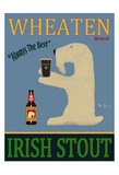 Wheaten Irish Stout Giclee Print by Ken Bailey