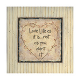 Love Life Print by Karen Tribett