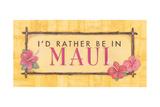 Maui Prints by Stephanie Marrott