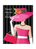 Don't Mess Print by Kathy Middlebrook