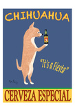 Chihuahua Cerveza Giclee Print by Ken Bailey
