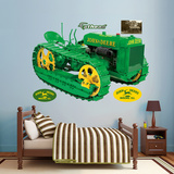 John Deere Lindeman Crawler Wall Decal