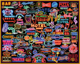 Neon Signs 1000 Piece Puzzle Jigsaw Puzzle
