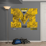 Michigan Wolverines Realtree Logo Wall Decal
