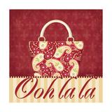Ooh La La Purse II Poster by Kathy Middlebrook
