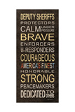 Deputy Sheriffs Posters by Kathy Middlebrook