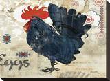 Banty Rooster Stretched Canvas Print