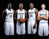 New Minnesota Timberwolves Player Portraits Photo by David Sherman