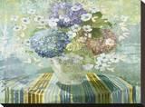 Brendas Hydrangea Stretched Canvas Print