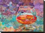 Cognac Stretched Canvas Print
