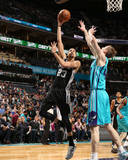 San Antonio Spurs v Charlotte Hornets Photo by Kent Smith
