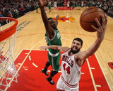 Boston Celtics v Chicago Bulls Photo by Gary Dineen