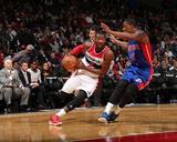 Detroit Pistons v Washington Wizards Photographie par Ned Dishman
