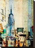 New York, The American Spirit Stretched Canvas Print