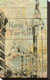 New York, New York Stretched Canvas Print