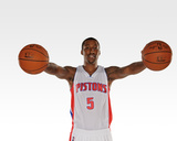 Detroit Pistons Media Day Photo by Allen Einstein